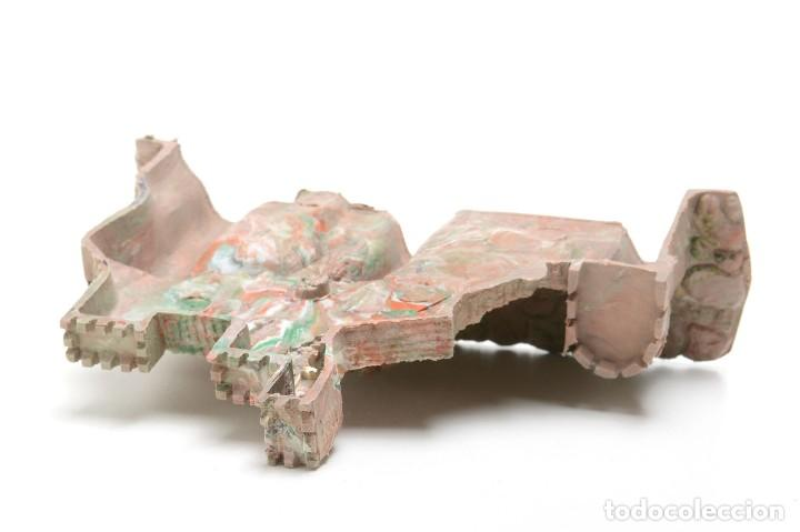Figuras de Belén: Castillo antiguo de plástico, decoración pesebre, modelismo - Foto 7 - 214470341