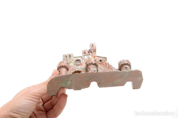 Figuras de Belén: Castillo antiguo de plástico, decoración pesebre, modelismo - Foto 9 - 214470341