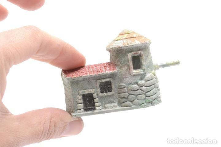 Figuras de Belén: Molino o pajar en miniatura de plástico de los años 70 para belén - Foto 8 - 214473185