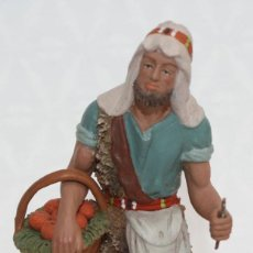 Figuras de Belén: FIGURA EN TERRACOTA DEL ARTISTA DANIEL URSUEGUIA. BELEN. PESEBRE. Lote 217811368