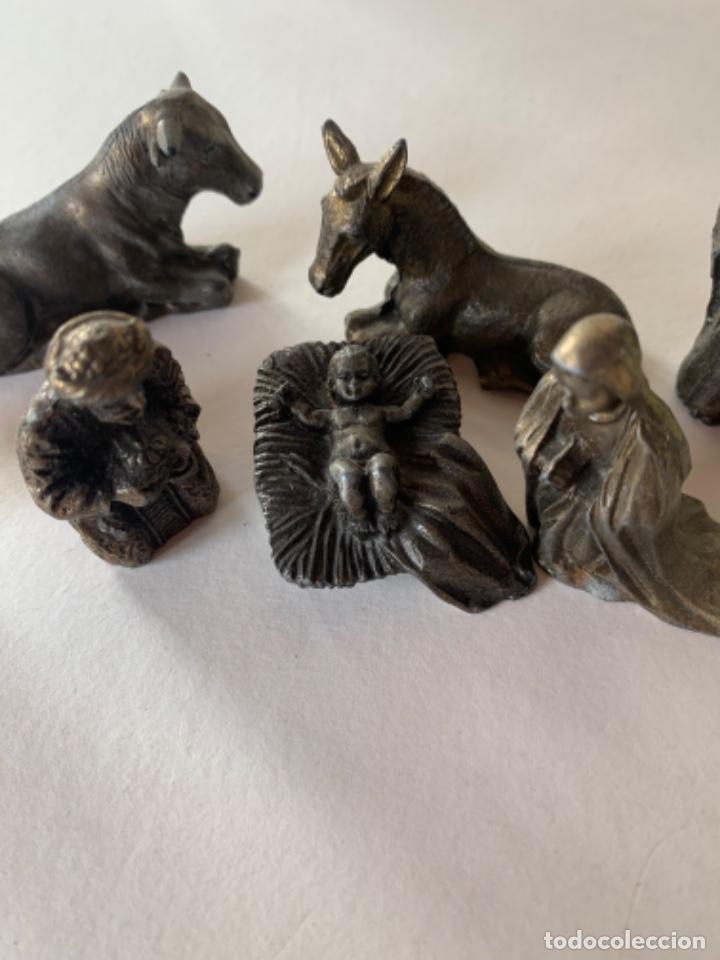Figuras de Belén: Figuras de Belén, un Belén de metal - Foto 2 - 217834480