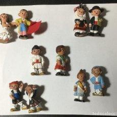 Figuras de Belén: LOTE DE 10 FIGURAS DE BARRO , ALBOROX. Lote 218413126