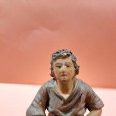Statuine di Presepe: FIGURA BELÉN BARRO.. Lote 220832031