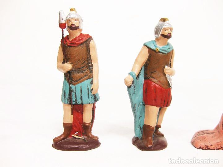 Figuras de Belén: Figuras de barro para nacimiento de 12 cm. Escena de la Degollación. - Foto 2 - 222046690