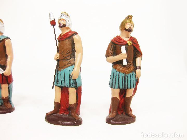 Figuras de Belén: Figuras de barro para nacimiento de 12 cm. Escena de la Degollación. - Foto 4 - 222046690