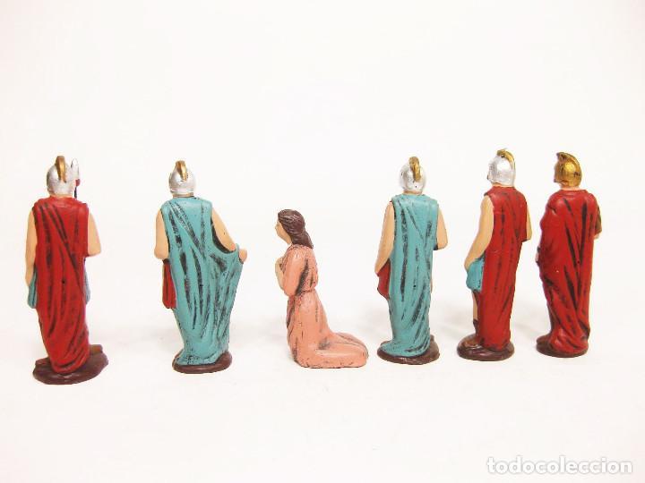 Figuras de Belén: Figuras de barro para nacimiento de 12 cm. Escena de la Degollación. - Foto 5 - 222046690