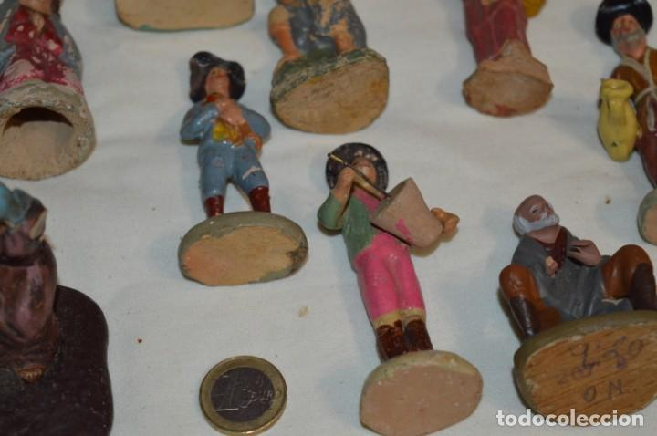 Figuras de Belén: Lote figuras variadas / BELÉN ANTIGUO / De BARRO, TERRACOTA o similar ¡Mira fotos/detalles! Lote 02 - Foto 11 - 222482505