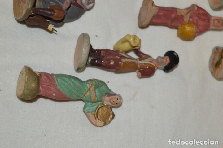 Figuras de Belén: Lote figuras variadas / BELÉN ANTIGUO / De BARRO, TERRACOTA o similar ¡Mira fotos/detalles! Lote 02 - Foto 13 - 222482505