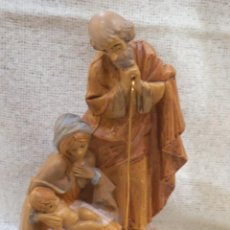 Figuras de Belén: NACIMIENTO - RESINA ITALIANA - ( PEANA ). Lote 222847761
