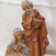 Figuras de Belén: NACIMIENTO - RESINA ITALIANA -. Lote 222848413