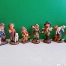 Figuras de Belén: 7 FIGURAS DE FERRANDIZ. Lote 222856220