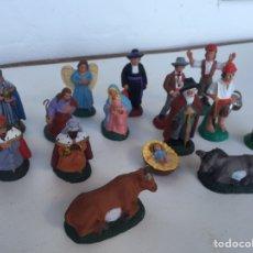 Figuras de Belén: BELEN CATALÁN AÑOS 60. Lote 223845903