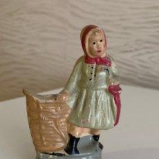 Figurines pour Crèches de Noël: BONITA PIEZA DE BELEN. BARRO. 9X6 CM. Lote 224565935