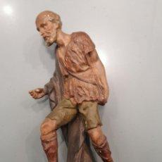 Figuras de Belén: PASTOR ESTUCO (132). Lote 226625285