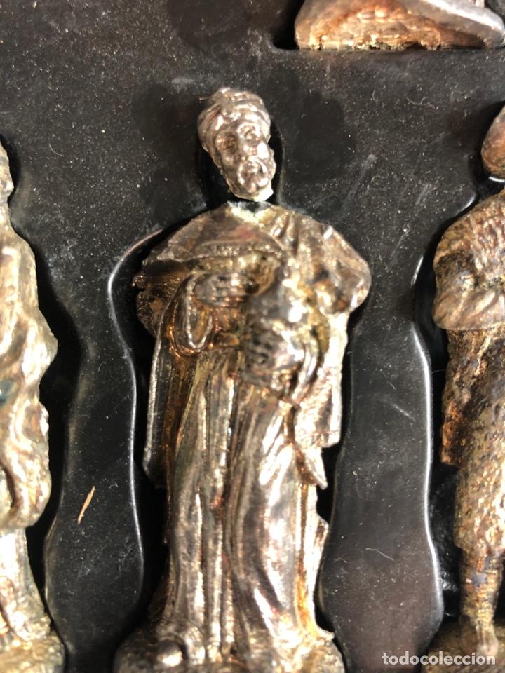 Figuras de Belén: Belen nacimiento en plomo heraldo de Aragon - Foto 5 - 227236007