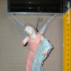 Figuras de Belén: FIGURA PORTAL DE BELEN O NACIMIENTO NIÑO ANGEL BARRO ANGELITO DE LA APARICION MURCIANO. Lote 227246454