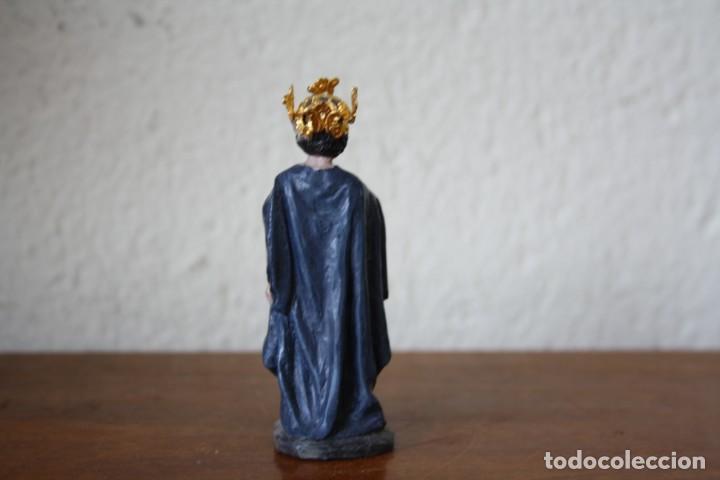 Figuras de Belén: FIGURA REY MAGO NACIMIENTO BELEN PESEBRE COLECCIÓN EDICIONES DEL PRADO - JOSE LUIS MAYO - Foto 2 - 227487960