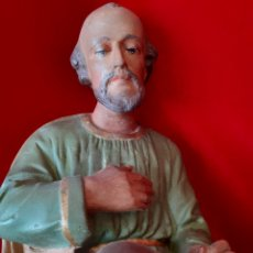 Statuine di Presepe: GRAN SAN JOSÉ 32 CM OLOT FRANCÉS. Lote 227679381