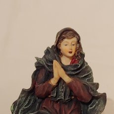 Figuras de Belén: ANTIGUO BELÉN EN RESINA 9 FIGURAS. Lote 228055945