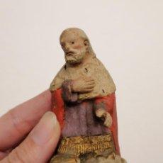 Figuras de Belén: REY MAGO DE TERRACOTA (162). Lote 228318518