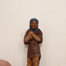 Figuras de Belén: PASTOR DE TERRACOTA (164). Lote 228318925