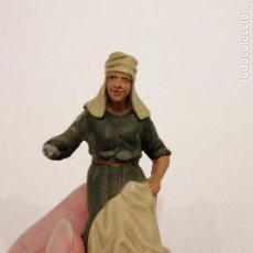 Figuras de Belén: PASTOR DE TERRACOTA (168). Lote 228320371