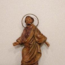 Figuras de Belén: SAN JOSE DE TERRACOTA (170). Lote 228321010