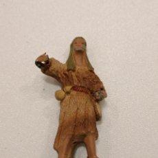 Figuras de Belén: PASTOR DE TERRACOTA (171). Lote 228321235