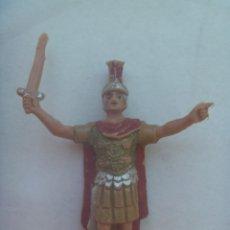 Figuras de Belén: ANTIGUA FIGURA DE PLASTICO DEL BELEN : ROMANO. Lote 228478160