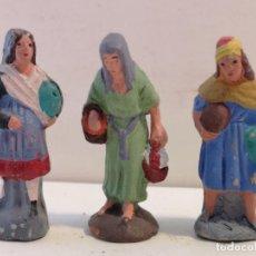 Figuras de Belén: FIGURAS DE BELÉN DE BARRO. Lote 229051750