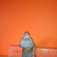 Figuras de Belén: FIGURA BELEN LAVANDERA CON VIANDAS 7 CM ALTO. TIENE UN BRAZO ROTO. Lote 229054955