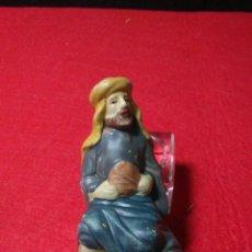 Figuras de Belén: ANTIGUA FIGURA DE BELEN ,PORCELANA ANTIGUA. Lote 229172615
