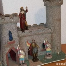 Statuine di Presepe: FIGURAS TERRACOTA BELEN CASTILLO HERODES SOLDADOS. Lote 230113385