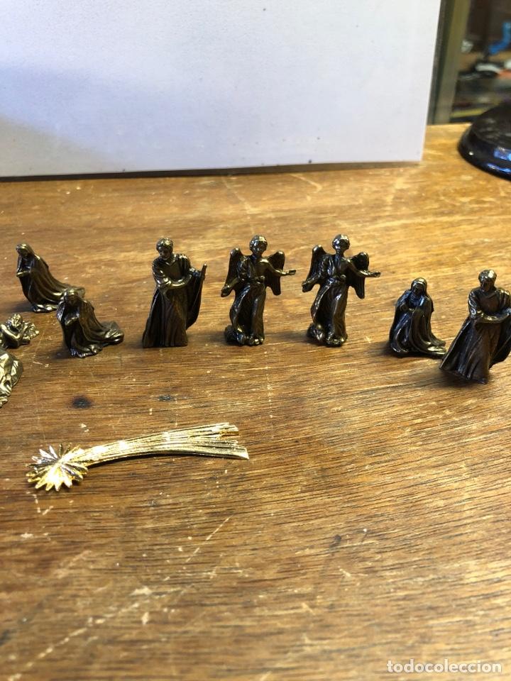 Figuras de Belén: Figuras de Belen pequeño metálicas - Foto 3 - 230969855