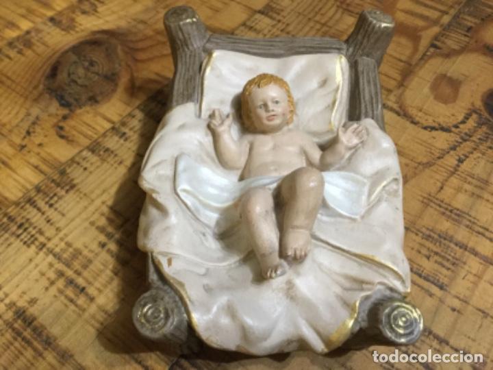 NIÑO JESÚS - FIGURA DE BELÉN - FABRICADO EN RESINA (Coleccionismo - Figuras de Belén)