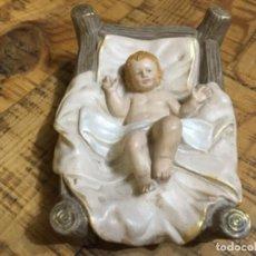 Figurines pour Crèches de Noël: NIÑO JESÚS - FIGURA DE BELÉN - FABRICADO EN RESINA. Lote 231057850
