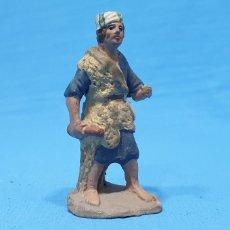 Statuine di Presepe: FIGURA DE BELÉN - PASTOR - EN TERRACOTA BARRO MURCIANO. Lote 231141530
