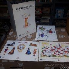 Figuras de Belén: BELÉN RECORTABLE ORIGINAL DE ASENSIO SAEZ AGRUPACION BELENISTA JOSE DE NAZARET MURCIA. Lote 231664685