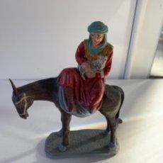 Figuras de Belén: FIGURA DE BELÉN, DE ARCILLA O TERRACOTA. Lote 232582390