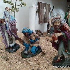 Figuras de Belén: FIGURAS DEL BELÉN. REYES MAGOS. Lote 232770590