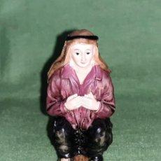 Figurines pour Crèches de Noël: FIGURA DEL BELÉN - CAGANÉ - CERÁMICA - EN SU CAJA ORIGINAL - 1 FIGURA (2 FOTOS).. Lote 233280985