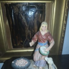 Figurines pour Crèches de Noël: FIGURAS DE BELÉN ANTIGUAS. Lote 233429820