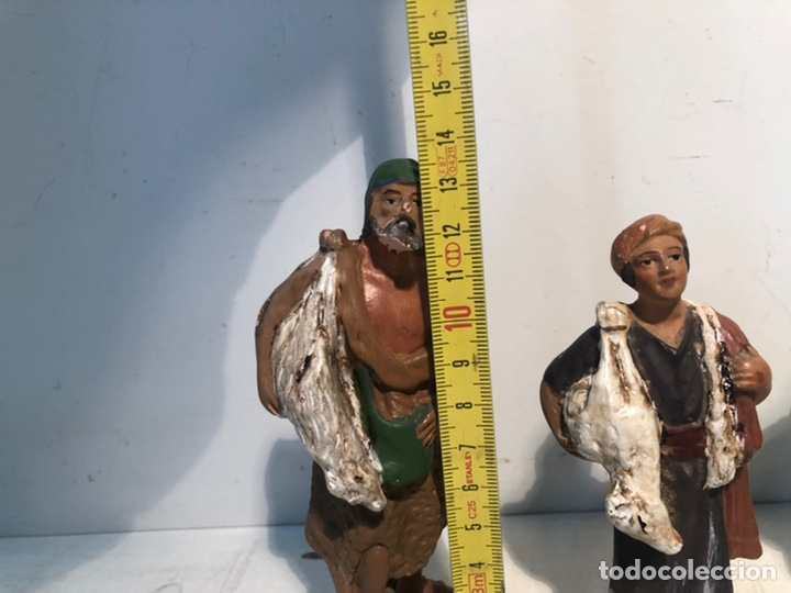 Figuras de Belén: FIGURAS BELEN, LOTE DE CUATRO FIGURAS PARA RESTAURAR, SERIE 12 OLOT. - Foto 19 - 234316420