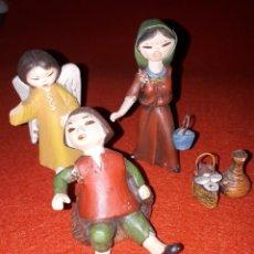 Figurines pour Crèches de Noël: LOTE FIGURAS PORTAL DE BELEN DE SERRANO. Lote 234704265