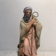 Figuras de Belén: FIGURA BELEN, HEBREO CON PERRO. SERIE 20 ARTE CRISTIANO OLOT. Lote 234738375
