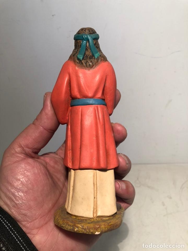 Figuras de Belén: FIGURA BELEN HEBREA CON CESTA, SERIE 15 ARTE CRISTIANO OLOT. - Foto 6 - 234828530