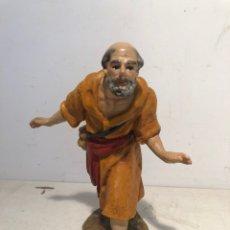 Figuras de Belén: FIGURA BELEN PASTOR ADORANDO, SERIE 15 ARTE CRISTIANO OLOT.. Lote 234829370