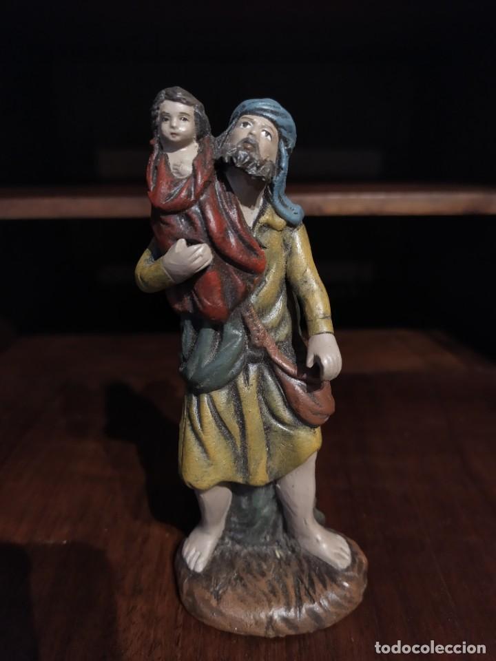 FIGURA BELÉN BARRO DECORARTE (Coleccionismo - Figuras de Belén)