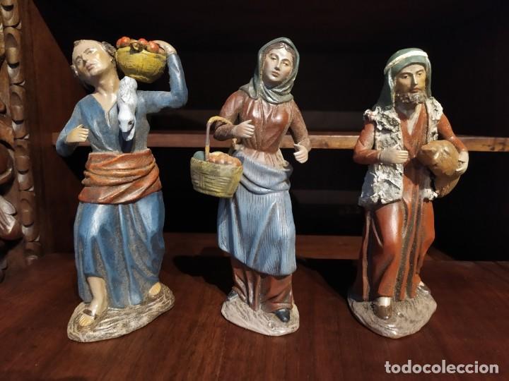 FIGURA BELÉN BARRO SERRANO (Coleccionismo - Figuras de Belén)
