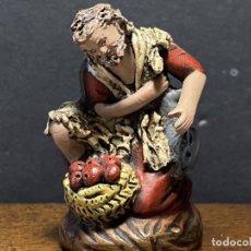 Figuras de Presépios: FIGURA DE BELÉN BARRO. Lote 236617090